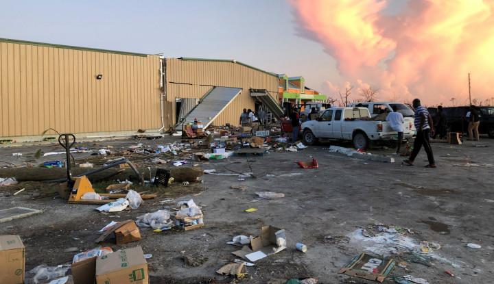Usai Bahama, Badai Dorian Hantam Pantai Atlantik Kanada - Warta Ekonomi