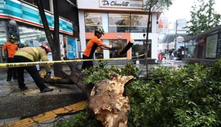 Badai Topan Lingling Hantam Korea Utara, Kim Jong-un Bilang. . . - Warta Ekonomi