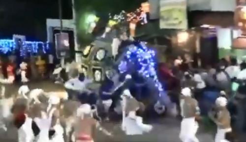 Video Detik-Detik Gajah di Sri Lanka Ngamuk dan Injak Pengunjung Saat Perayaan Festival