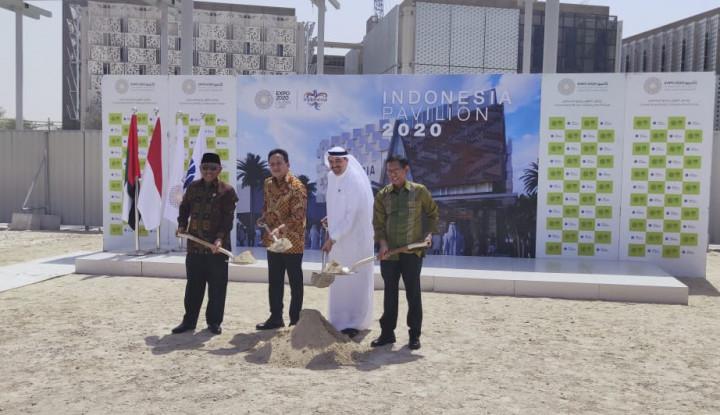 Triawan Munaf Lakukan Groundbreaking Paviliun Indonesia pada Expo 2020 Dubai - Warta Ekonomi