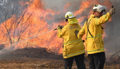 Foto PM Morrison: Australia Akan Selidiki Penyebab Kebakaran Hutan