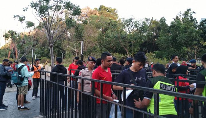 Jelang Pertandingan Indonesia vs Thailand, Kondisi Stadion GBK Sepi Penonton - Warta Ekonomi