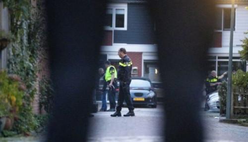 Foto Penembakan di Dordrecht Belanda, 3 Orang Tewas