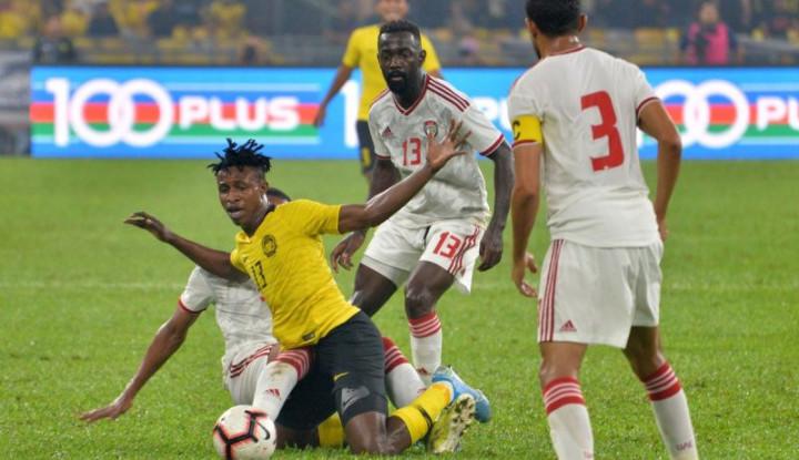 Kualifikasi Piala Dunia 2022 zona Asia: Timnas Malaysia Kalah 1-2 dari UEA - Warta Ekonomi
