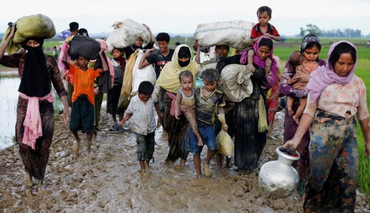 Myanmar Robohkan Perkampungan Warga Rohingya, Diganti Dengan. . . - Warta Ekonomi