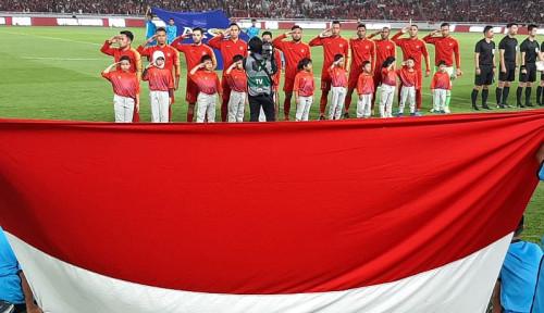 Foto Timnas Indonesia vs Thailand Imbang 0-0 di Babak Pertama