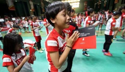 Foto Lentera Anak Kasih Pujian ke Audisi PB Djarum, Katanya...