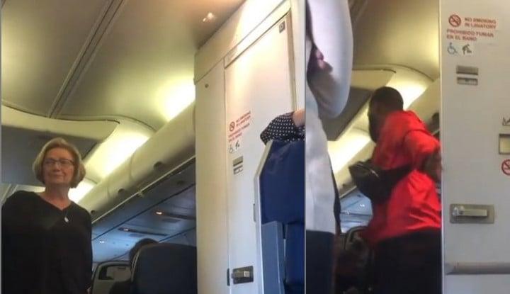Duh, Atlet Voli AS Tak Sengaja Rekam Pasangan Mesum di Toilet Pesawat - Warta Ekonomi