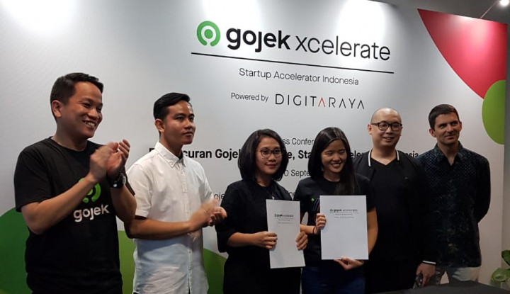 gibran jokowi yakin gojek dan nadiem tularkan kesuksesan ke startup lainnya