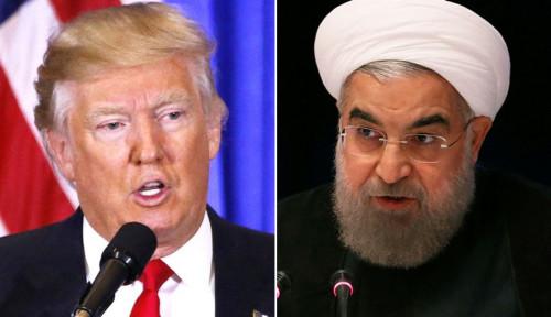 Foto Presiden Iran: AS Takut Perang dengan Kami