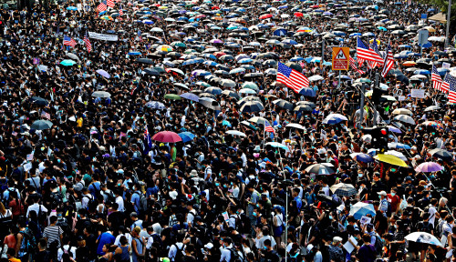 Foto Updated Demo Hongkong, Ini Dia...
