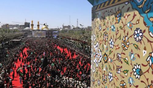 Foto Umat Syiah Peringati Hari Asyura di Irak, 31 Orang Tewas dan Ratusan Terluka