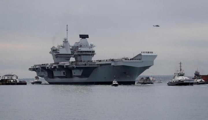 China Peringatkan Kapal Inggris di LCS, Langkah Defensif? - Warta Ekonomi