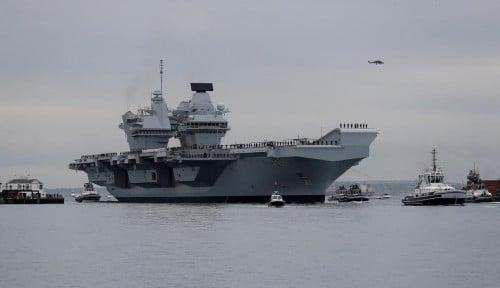 Foto China Peringatkan Kapal Inggris di LCS, Langkah Defensif?