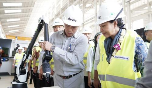 Foto Workshop HMC Diresmikan, Barata Indonesia Diharapkan Jadi Pemain Global