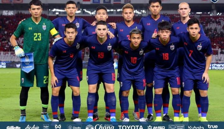 Usai Bantai Indonesia 0-3, Timnas Thailand Arahkan Fokus ke UEA - Warta Ekonomi