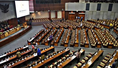 Foto Corona di RI Makin Ganas, DPR Kekeh Gelar Rapat Paripurna Besok