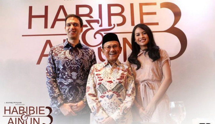 BJ Habibie Meninggal Dunia, Rilis Film Habibie & Ainun 3 Diundur - Warta Ekonomi