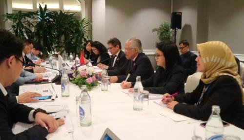 Foto Indonesia Percepat Penyelesaian IK-CEPA dan Tingkatkan Kerja Sama Perdagangan dengan AS