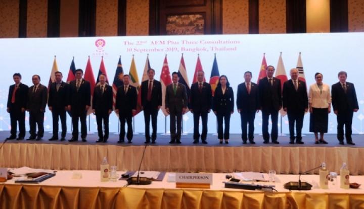 Tingkatkan Kerja Sama, ASEAN Manfaatkan Konsultasi dengan Negara Mitra Strategis - Warta Ekonomi