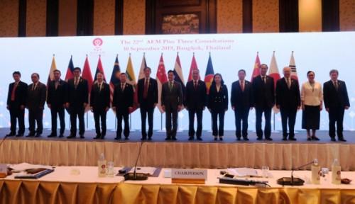 Foto Tingkatkan Kerja Sama, ASEAN Manfaatkan Konsultasi dengan Negara Mitra Strategis