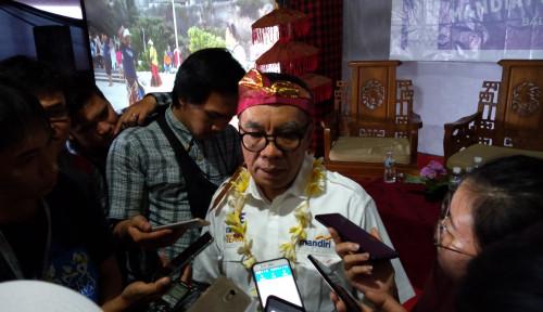 Foto Mandiri Serahkan Dana Rp110 Juta untuk Taman Wisata Kutuh