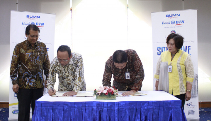 Gandeng Waskita Realty, BTN Tawarkan KPR/KPA Bunga Flat 5%