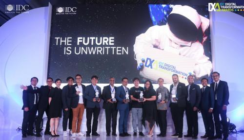 Foto Coca Cola Amatil Hingga Gojek Jadi Pemenang IDC  Digital Transformation Awards 2019
