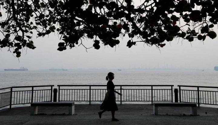 Kebakaran Hutan Indonesia, Beberapa Titik di Malaysia Tertutup Asap Tebal - Warta Ekonomi