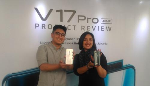 Foto Vivo Pamerkan Keunggulan Kamera Depan Produk Barunya