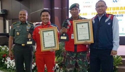 Foto TNI AD Ganjar Waskita Karya dengan 2 Penghargaan