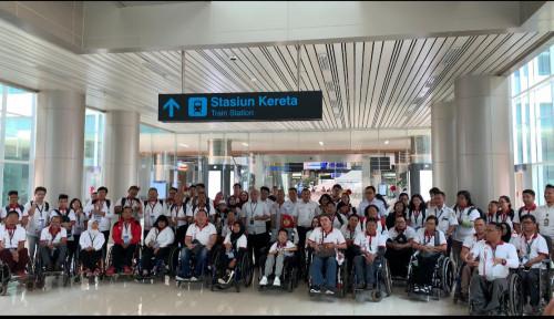 Foto Ini Dia Fasilitas Bagi Disabilitas di Bandara Soetta