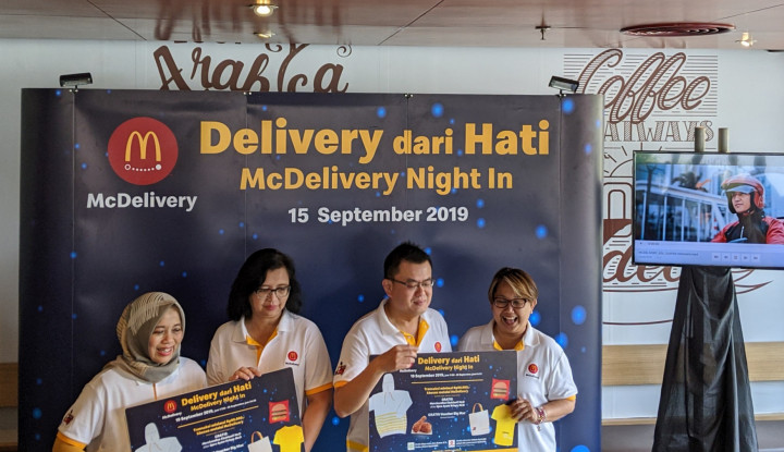 Apresiasi Pelanggan, McDonald's Gelar McDelivery Night In - Warta Ekonomi