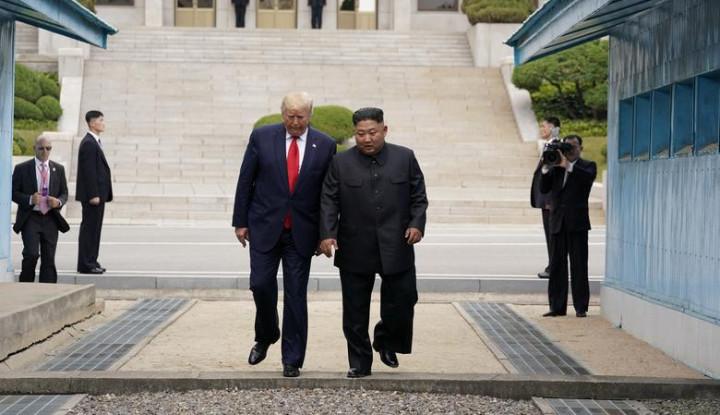 Kim Jong-un Surati Donald Trump, Apa Isinya? - Warta Ekonomi