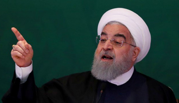 Ingin Hindari Ancaman, Rouhani Desak Pasukan AS dan Eropa Agar Menjauh dari Timur Tengah - Warta Ekonomi