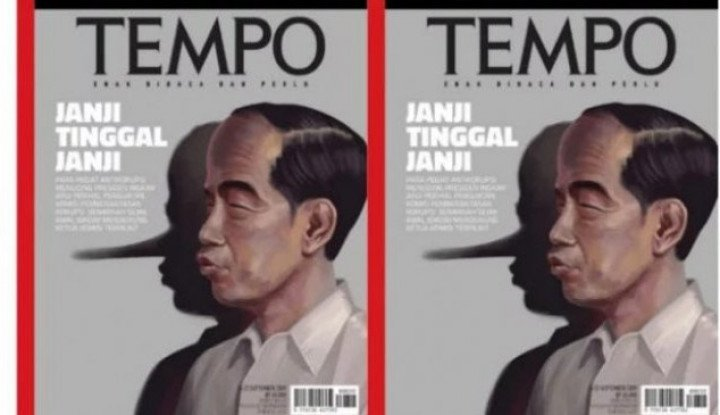 Ributin Cover 'Pinokio' di Majalah Tempo, Relawan Jokowi Kena Sindir Demokrat - Warta Ekonomi