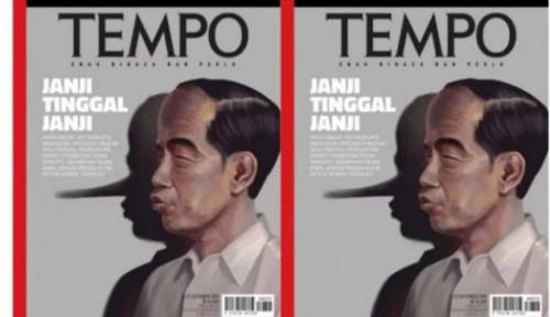 Foto Ributin Cover 'Pinokio' di Majalah Tempo, Relawan Jokowi Kena Sindir Demokrat