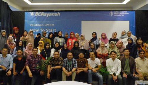 Foto Dukung Pertumbuhan Ekonomi, BCA Syariah Dorong Milenial Berwirausaha