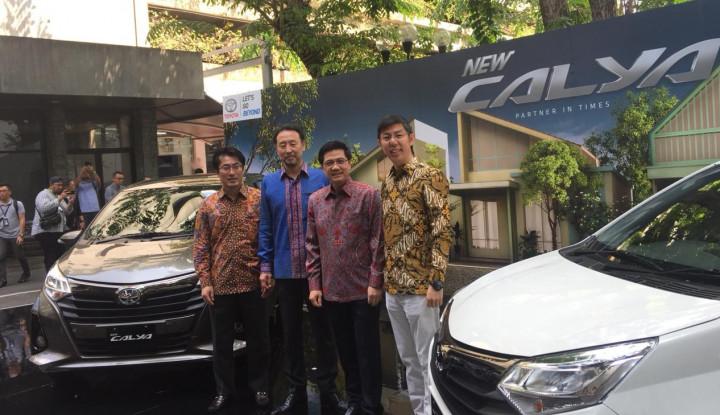 Toyota Luncurkan Versi Baru Calya dengan Harga Rp137 Juta