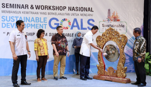 Foto PTTEP Soroti Sustainable Resources Dan Tourism di Bali