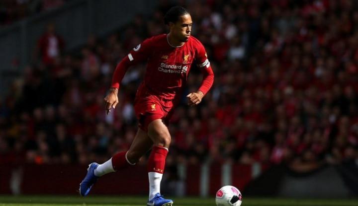 Targetkan Juara Liga Inggris, Van Dijk Merasa Punya Beban? - Warta Ekonomi