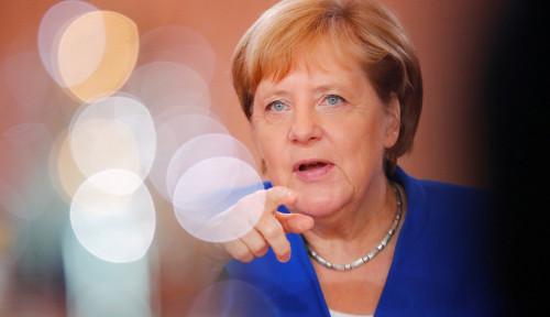 Foto Soal Rencana Netanyahu Caplok Tepi Barat, Kanselir Jerman Tegas Bilang...