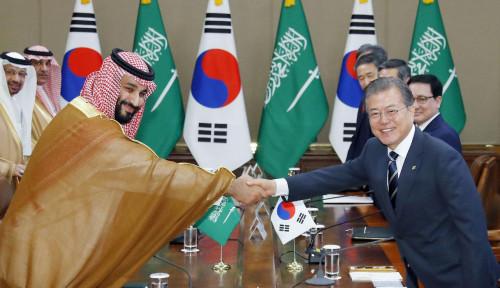 Foto Korsel: Pangeran Arab Minta Bantuan Senjata Perkuat Pertahanan Udara