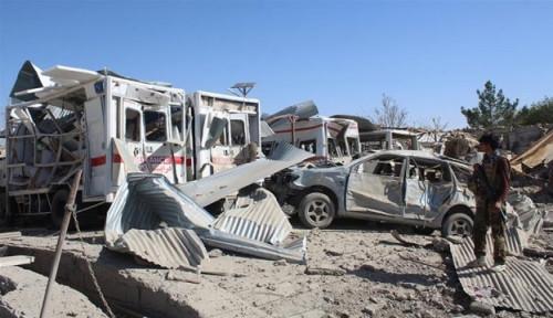 Foto Lebih dari Seribu Warga Afghanistan Jadi Korban Tewas dalam 3 Bulan