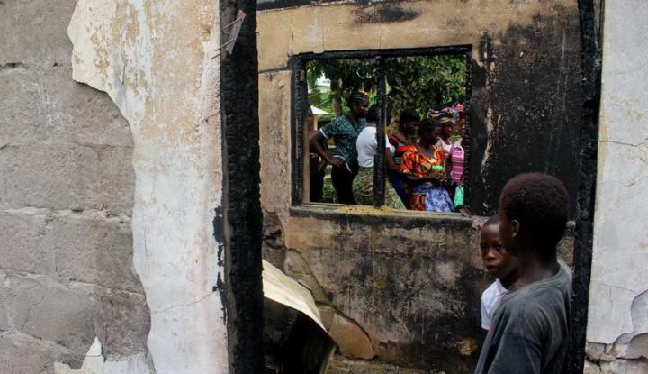 Kebakaran Pesantren di Liberia Tewaskan 28 Santri, Kebakaran Disebabkan. . . - Warta Ekonomi