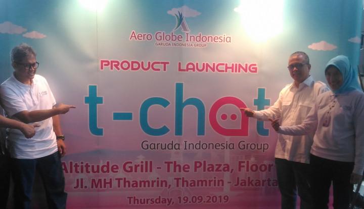 T-chat, Layanan Baru Ticketing Garuda Indonesia Berbasis AI - Warta Ekonomi