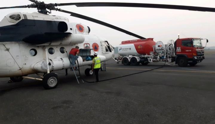 Pertamina Operasikan Refueller 16 KL Bantu BNPB Tangani Karhutla - Warta Ekonomi