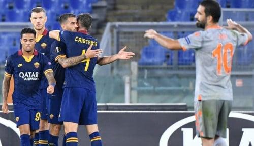Foto AS Roma Bantai Istanbul Basaksehir 4-0 di Laga Liga Eropa 2019