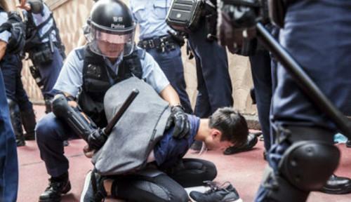 Foto Ditekan Pemerintah Lewat UU Konyol, Pendemo Malah Makin Berani
