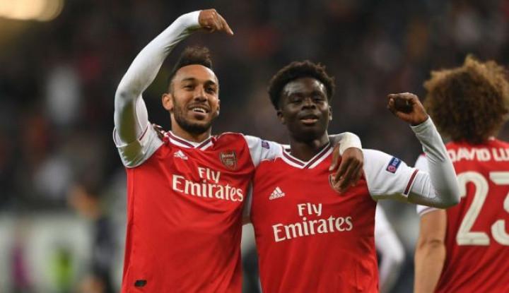 Komentar Bukayo Saka Usai Beri Kemenangan untuk Arsenal - Warta Ekonomi